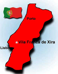 Vila Franca de Xira is a small city near Lisbon